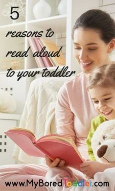 5 reasons to read aloud to your toddler. If you love books and reading then you're on the right track! We talk to a literacy expert to discuss why reading aloud to your toddler is so important and also include some great toddler book recommendations. Parenting Toddlers, Parenting Hacks, Practical Parenting, Best Toddler Books, Books For Tweens, Little Doll, Baby Hacks, Toddler Activities, Toddler Play