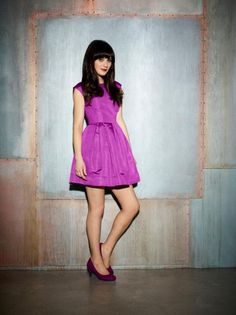 Zooey Deschanel as Jessica Day in New Girl. New Girl Facebook Page.