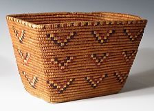 Antique COAST SALISH American Indian Basket