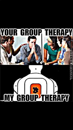 Group therapy for gun owners :) Humor for conservatives and gun lovers.