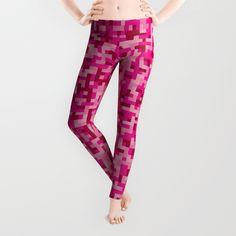 "Leggins Pink Pixel Army. Leela (from Futurama) love this design! XD ""Feministas!"""