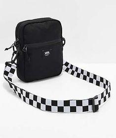 Supreme Cordura Black Laminated Ripstop Nylon Travel Shoulder Bag Camping