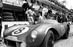 Le Mans 24H 1960, Aston Martin DBR1/300, Ian B. Baillie & Jack Farman finishing 9th overall.