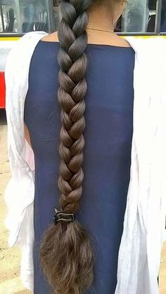 Indian Hairstyles, Girl Hairstyles, Braided Hairstyles, Long Silky Hair, Super Long Hair, Beautiful Braids, Beautiful Long Hair, Braids For Long Hair, Braid Hair