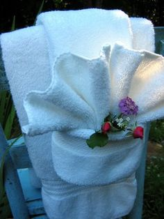 Towel Folding Instructions.. This One Is So Cute When Done Do This One  Myself
