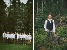 A woodsy and romantic wedding by Bethany Jeffery Photography - Wedding Party