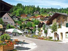 Historisches Mittenwald im gries.
