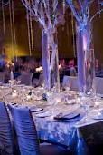 winter wedding centerpieces - Google Search