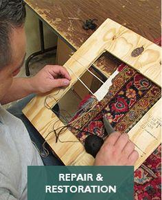 Antique Oriental Repair And Repair Services Dallas