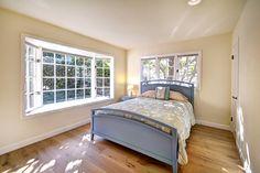 Open space guest bedroom