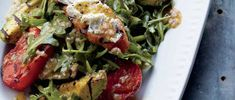 Curtis Stone | Grilled Vegetable and Arugula Salad with Goat Cheese Crostini