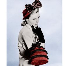 Vintage Crochet Pattern   1940s Fascinator Hat   and Ruffled Purse  by 2ndlookvintage, $4.00