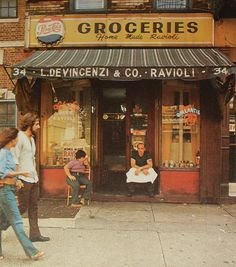 New York City DOWNTOWN 1970s VINTAGE by Christian Montone, via Flickr