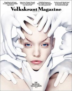 Volkskrant Magazine (Netherlands) | Magazine Cover: Graphic Design, Typography, Photography | Photo: Carli Hermes |