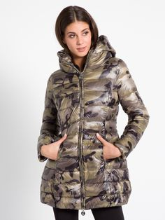 MET Women's RECOVER mid-thigh length padded jacket with hood - Met
