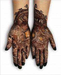 Mehndi ( Hindi : मेहँदी , Urdu : مہندی ) the application of henna as a temporary form of skin decor...
