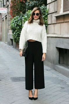 Culottes and sweaters