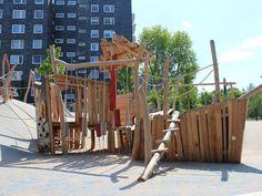 Bochum, Hustadttor 2012/2013 öffentlicher Spielplatz