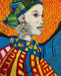 African Potrait #proudlysouthafricanArt  #instagramMe@lebz