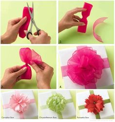 How to - Pom Pom Bow & more by The Container Store