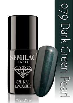 Semilac 079 Dark Green Pearl UV&LED Nagellack. Auch ohne Nagelstudio bis zu 3 WOCHEN perfekte Nägel!