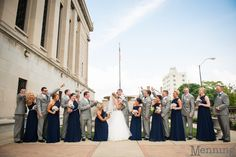 Tara & Chris Wedding | St. James Church | Stambaugh Auditorium | Mr. Anthony's | Youngstown, OH Wedding Photographers » Menning Photographic | Youngstown, OH Wedding Photographers