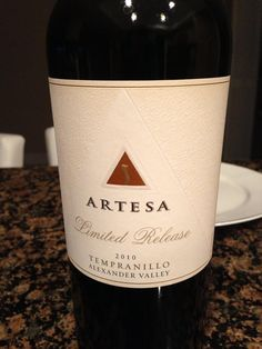 Twitter / DBorgesCPA: This @Artesa Limited Release  Tempranillo is excellent. Floral nose with a heavy coffee bean note. #GreatWithSteaks