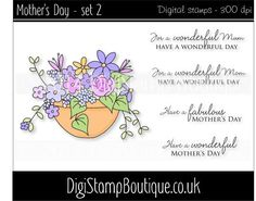 * Mother's Day set 2