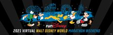 runDisney 2021 Virtual Walt Disney World Marathon Weekend