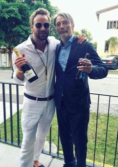 Mads with Max the Sax.