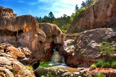 Jemez, New Mexico-  2 hours from Albuquerque. Ponderosa pine forest. Hike McCauley Hot springs. Camp nearby