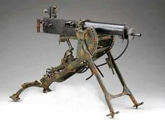 German 08 Maxim Machine Gun 7.09 cal.
