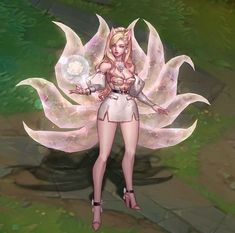 """StarLight_Lux on Instagram: """"🎀✨ S' Post ✨🎀 kda allout ahri prestige edition ━━━━━━━━━━━━━༺༻━━━━━━━━━━━━━ 🌼 𝔉𝔬𝔯 𝔪𝔬𝔯𝔢 🌼 @starlight_lux · •. ✦ ˚ · . · •. •. ✶ ˚ · .…"""" Lol League Of Legends, Anime Outfits, Concept Art, Horror, Princess Zelda, Fictional Characters, Instagram, Night, Twitter"""