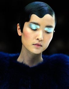 ASIAN MODELS BLOG: EXTRA: Du Juan at Prada (Re-staged) Spring/Summer 2011 Show in Beijing, China Like this.