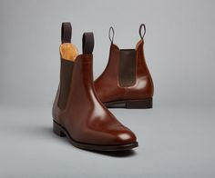 Lambourn Beechnut Jodhpur Boot | The Original Handmade English Country Shoes and Boots by Tricker's