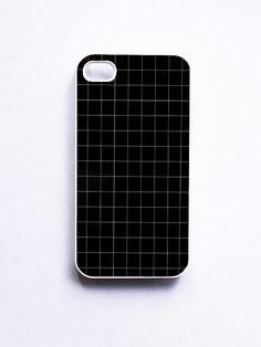Black Grid Tumblr Phone Cases For iPhone, Samsung, Sony iPod   Feeiva