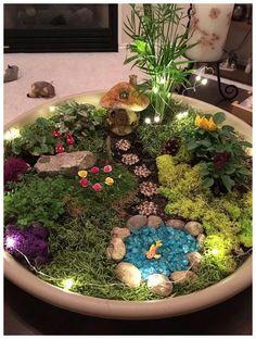 37 DIY Miniature Fairy Garden Ideas to Bring Magic Into Your Home My fairy gard. - 37 DIY Miniature Fairy Garden Ideas to Bring Magic Into Your Home My fairy garden!