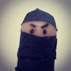 Ninja! #fingerart