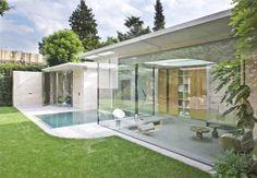 Casa moderna in Olanda, luminosa e trasparente
