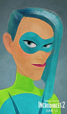 """*VOYD ~ is a new character in The Incredibles ii. Another Super joins the mix w/Sophia Bush,playing an overeager young Super+Elastigirl obsessive(which,again,definitely didn't backfire last time).Powers & Abilities: As her name suggests,Voyd's abilities allow her to """"divert and manipulate objects around her by creating voids that allow the objects to appear+ disappear+shift in space."""""""