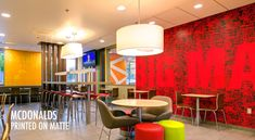 When Steve Easterbrook took over as CEO in he needed to figure out how to get McDonald's back on track. Bakery Design, Cafe Design, Cafe Restaurant, Restaurant Design, Restaurant Ideas, Hospitality Design, Booth Design, Retail Design, Mcdonalds