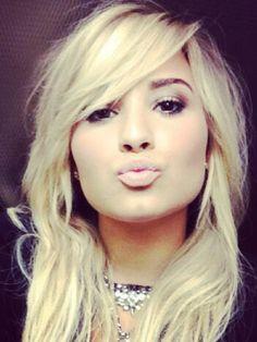 Demi Lovato ~ blond hair