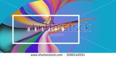 Modern colorful flow poster. Wave Liquid shape in colorful background. Art design for your design project. Vector illustration EPS10