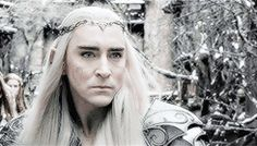 Wowww Thranduil ~~~ no one can reach your handsomeness (except your son Legolas~lol) love you and your son , you two are fabulously perfect~~