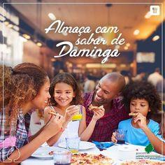 A família toda reunida no almoço de domingo, tem coisa melhor? Família + Almoço…