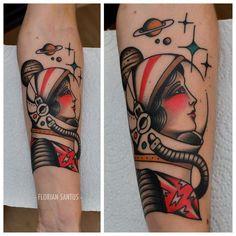 Astronaut by Florian Santus, Paris - France.