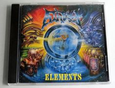 Atheist - Elements (CD, Metal Blade, 1993)