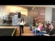 05/11/2015 - Palestra Black Wekend - Shopping Outlet Catarina
