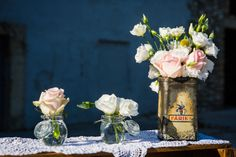 Tiphanie and Scott's Retro Romantic Wedding in Provence. By Label' Emotion