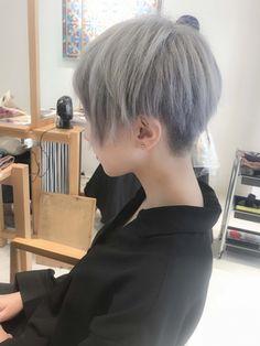 Pin on ファッション Pin on ファッション Asian Short Hair, Short Hair Cuts, Short Hair Styles, Pixie Hairstyles, Cool Hairstyles, Hair Inspo, Hair Inspiration, Hair Streaks, Haircut For Older Women